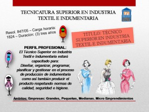 Industria Textil e Indumentaria